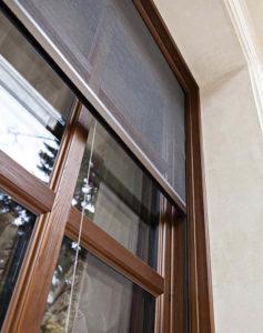 Москитная сетка плиссе на окно