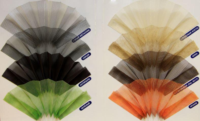 Цветовая гамма плиссе